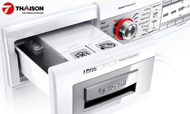 Công nghệ I-DOS được áp dụng trên dòng máy giặt cao cấp.