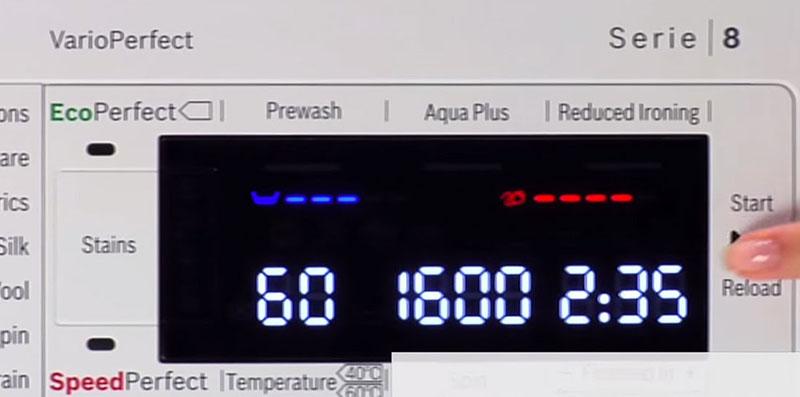 Tốc độ quay cao thường là 1600rpm - 1800rpm