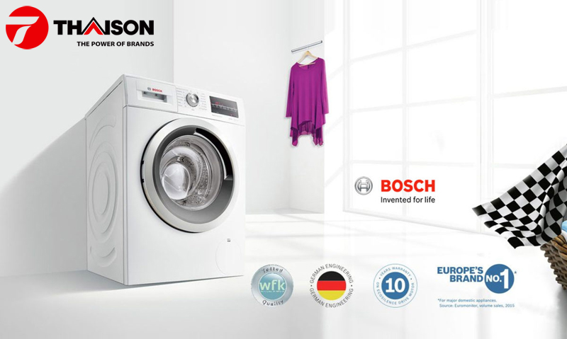 Máy giặt Bosch của Đức