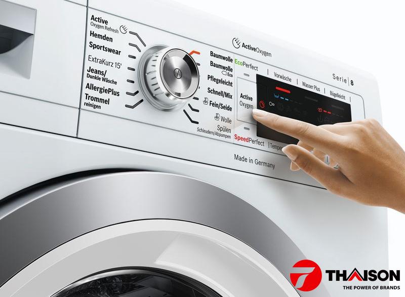 Chọn máy giặt Bosch để giặt sạch mà không hại quần áo