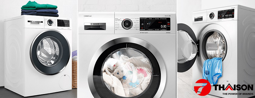 Công nghệ giặt 4D trên máy giặt Bosch mới nhất