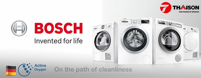 Đánh giá hiệu quả sử dụng điện nước của máy giặt Bosch