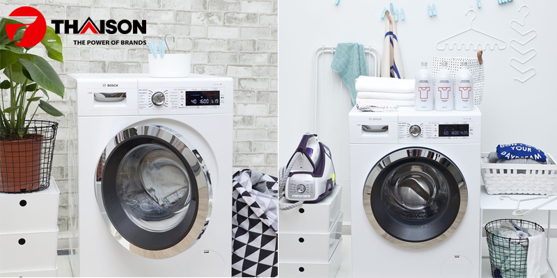 Máy giặt Bosch bảo vệ quần áo