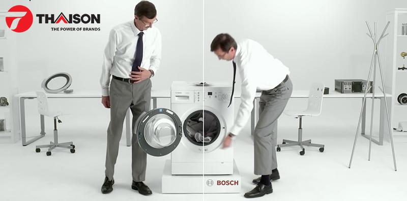 Bosch được các chuyên gia thử nghiệm và đánh giá cao về hiệu suất giặt