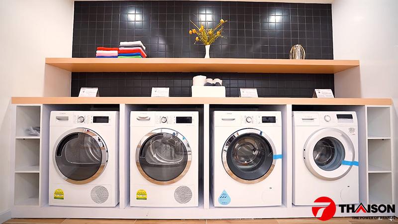 Máy giặt Bosch tại Siêu thị Bếp Thái Sơn.