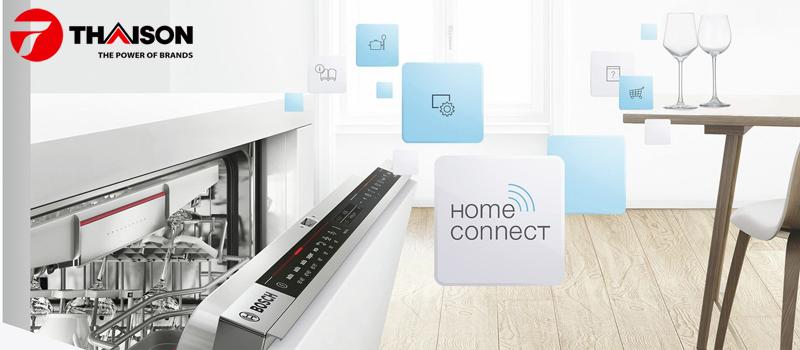 Máy rửa bát Bosch có chức năng Home Connect