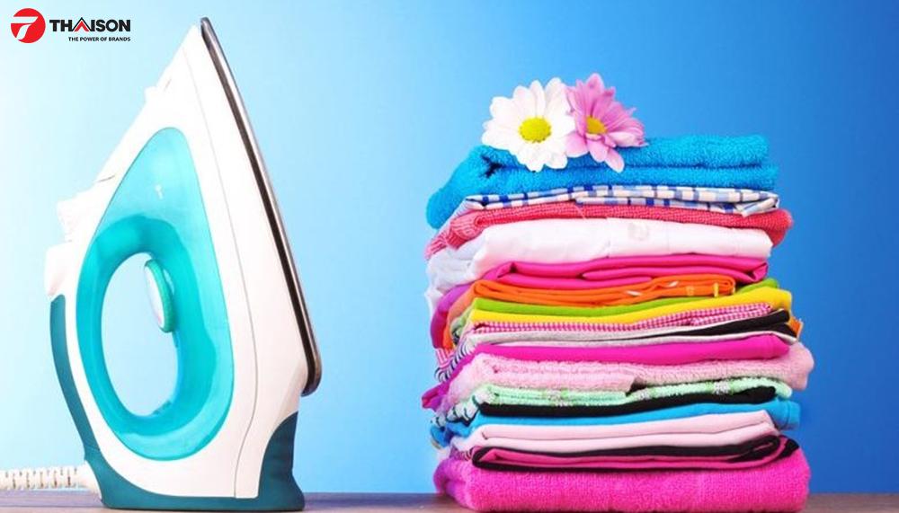 Sấy quần áo vải bông để là ủi – Cottons Iron Dry.
