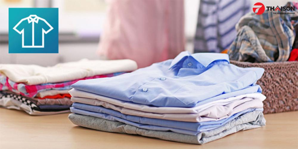 Quần áo được bảo vệ chống nhăn với chức năng Crease Guard.