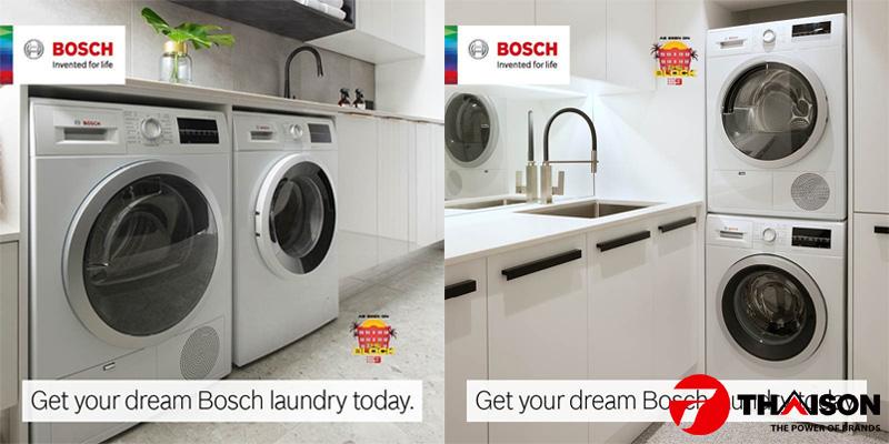 Mua máy sấy quần áo Bosch ở đâu