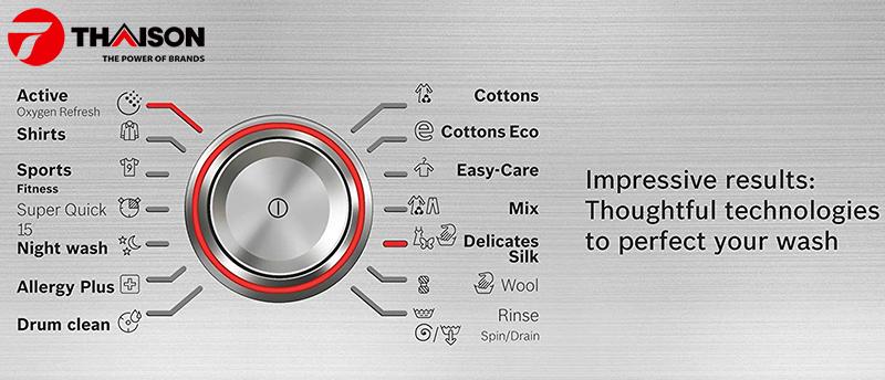 Review máy giặt Bosch