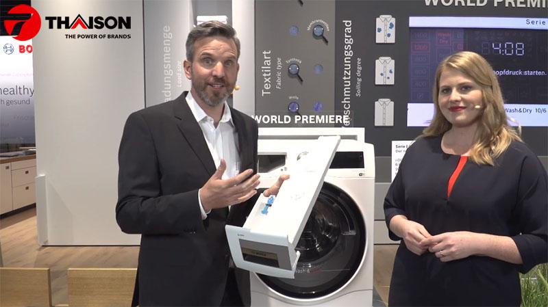 Tại sao nên dùng máy giặt Bosch công nghệ I-Dos
