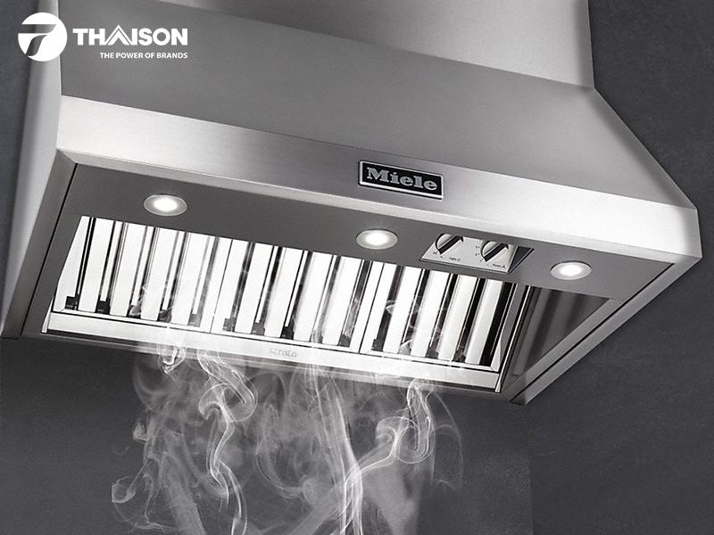 Loại bỏ nhiệt dư cho phòng bếp mát hơn