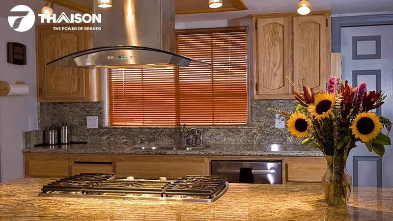 Lựa chọn máy hút mùi cùng phong cách bếp nhà bạn