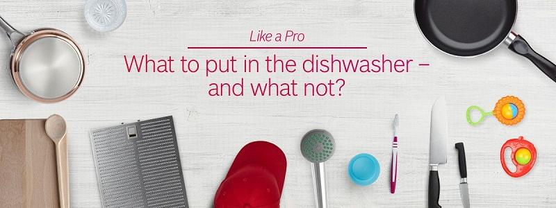Nên và không nên đặt gì vào máy rửa bát