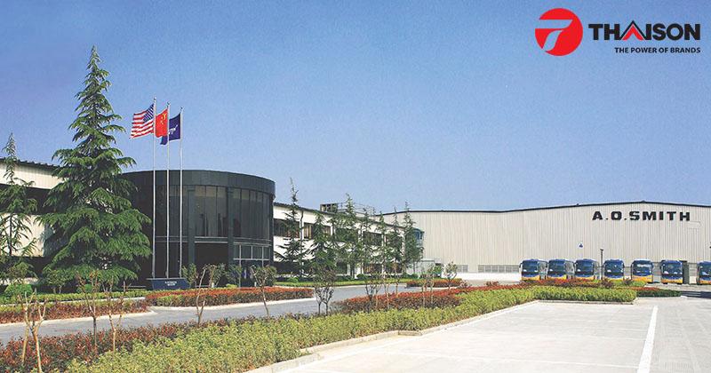Nhà máy sản xuất A.O.Smith tại Trung Quốc