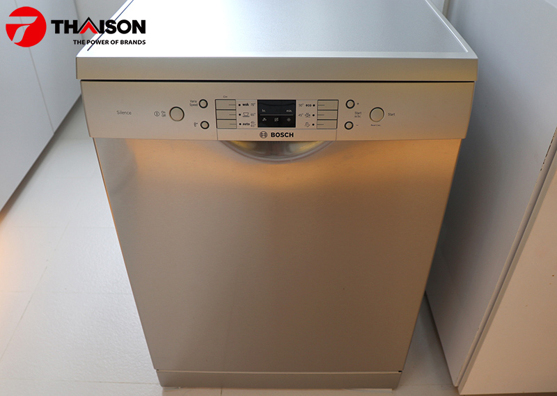 Ảnh thực tế máy rửa bát Bosch SMS63L08EA.