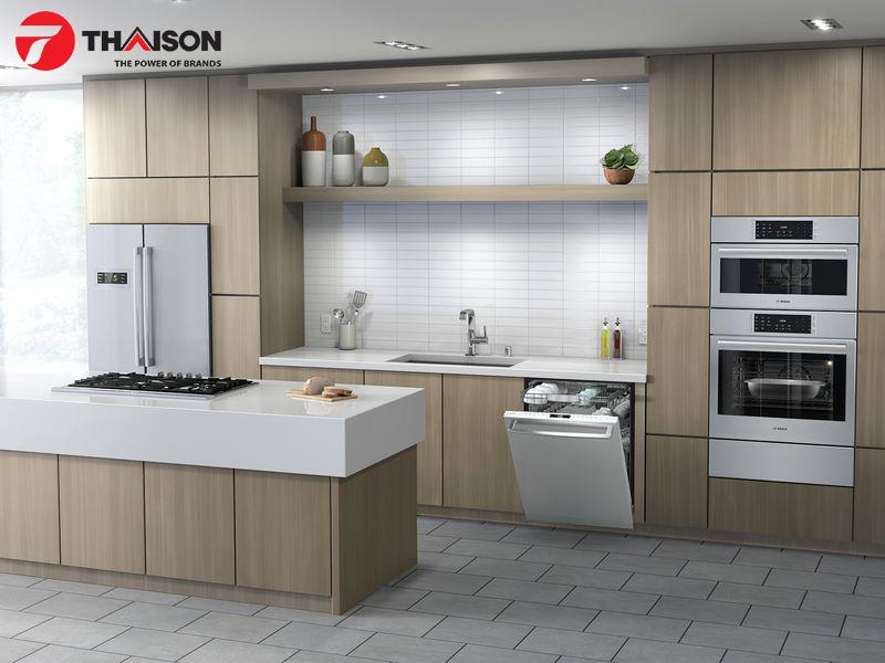 Hài hòa với tổng thể không gian bếp