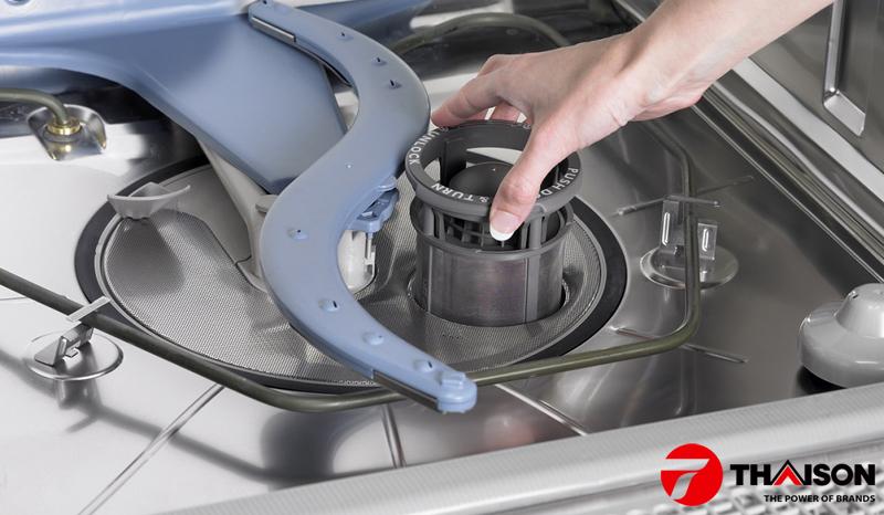 Bộ lọc rác trong máy rửa bát Bosch