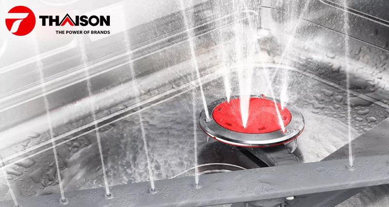 Máy rửa bát Bosch hoạt động như thế nào