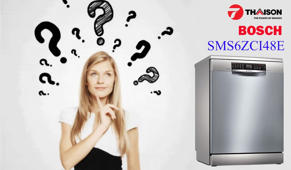 Máy rửa bát Bosch SMS6ZCI48E có tốt không?