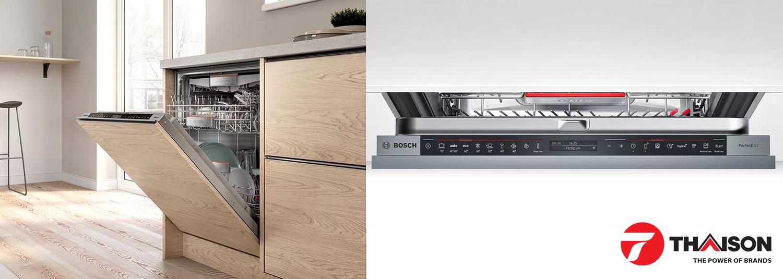 Bảng điều khiển máy rửa bát Bosch Serie 8 âm tủ