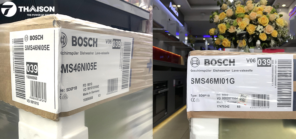 Tem máy rửa bát Bosch