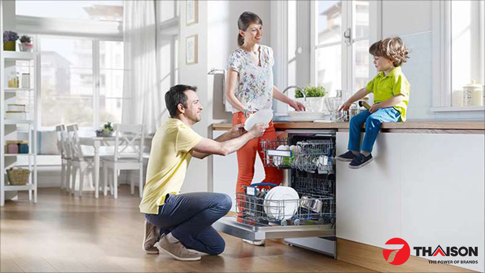 Máy rửa bát và gia đình