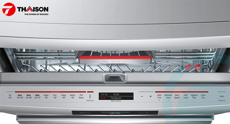 Hướng dẫn tái khởi động máy rửa bát Bosch