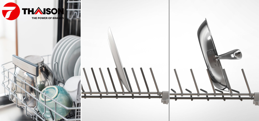 Hướng dẫn xếp bát đĩa vào máy rửa bát Bosch