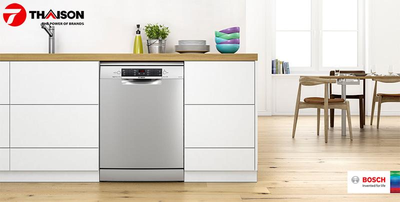 So sánh Serie máy rửa bát Bosch