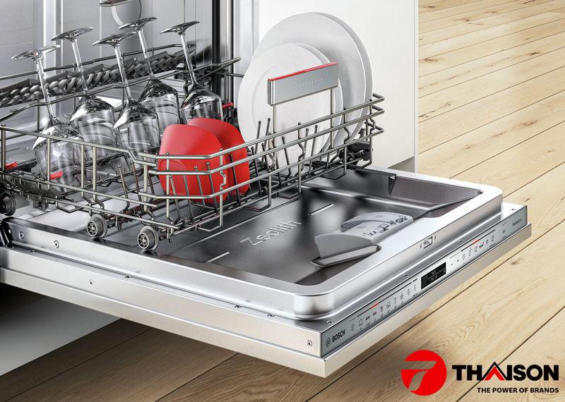 -       Số chương trình rửa: Tương tự, Serie càng cao thì số chương trình rửa của máy rửa bát Bosch càng nhiều. Ví dụ, với Serie 2 và 4, số chương trình rửa có thể từ 4-8 chương trình. Trong khi Serie 6 và 8 có thể lên tới 12 chương trình rửa đa dạng.