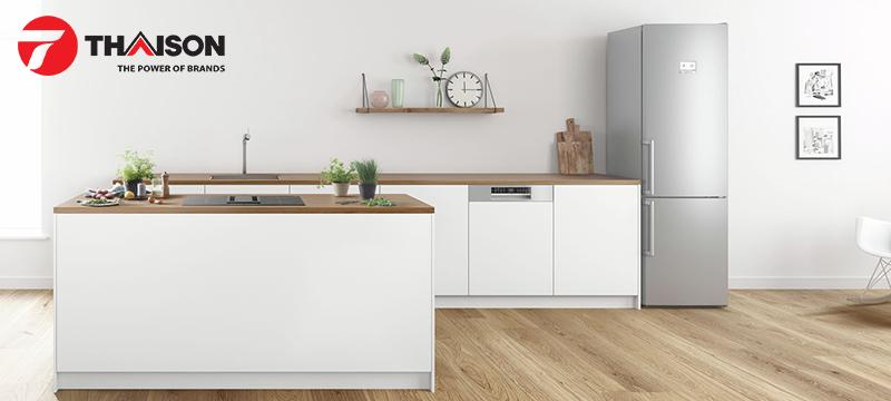 Chiều cao 86cm phù hợp cho tủ bếp cao