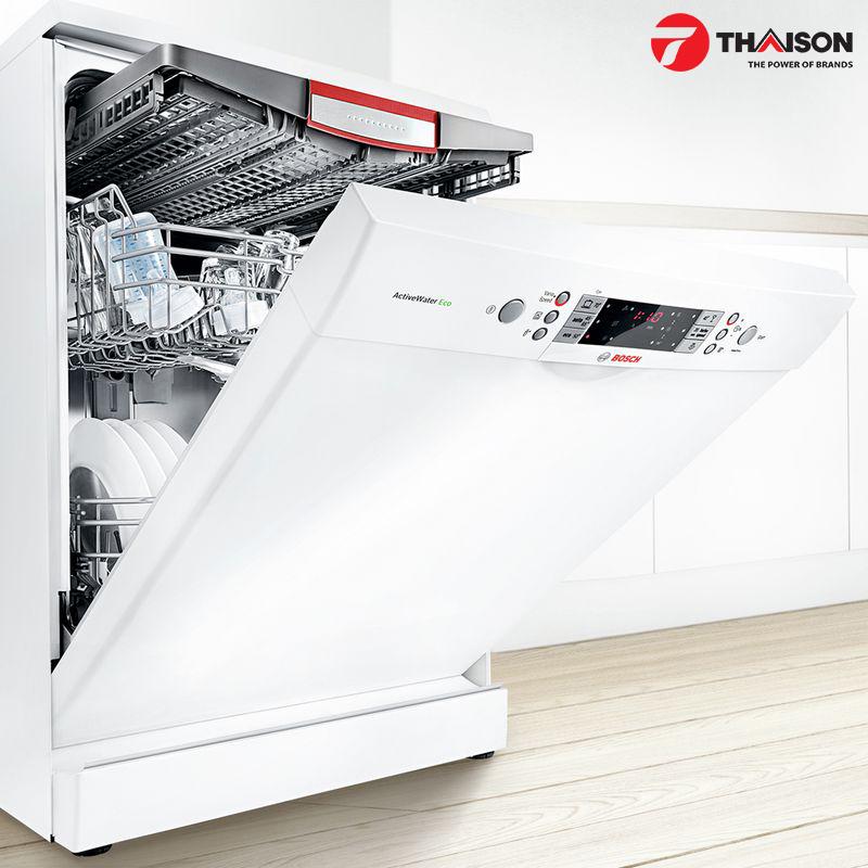 Máy rửa bát Bosch có thể kiến tạo thêm không gian chứa