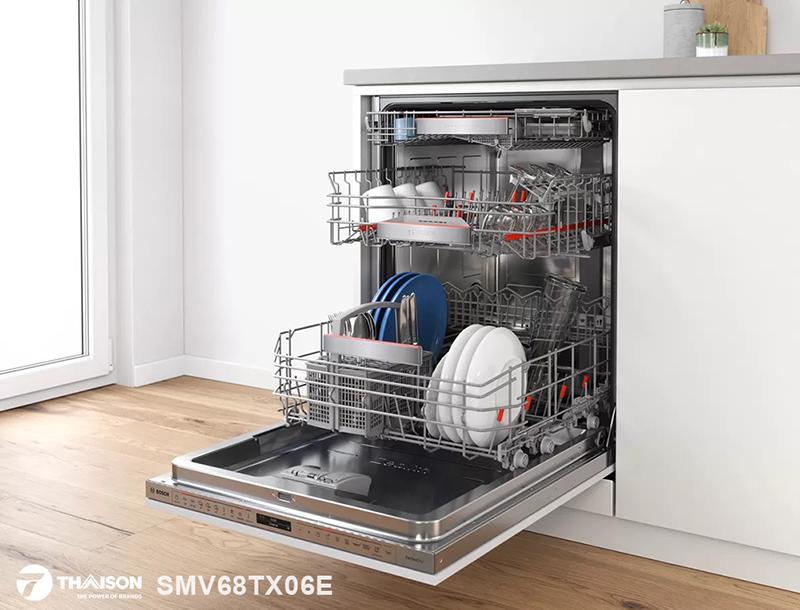 Máy rửa bát âm tủ Bosch SMV68TX06E Serie 6