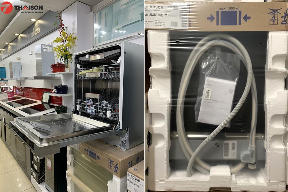Tài liệu hướng dẫn sử dụng đính kèm máy rửa bát.