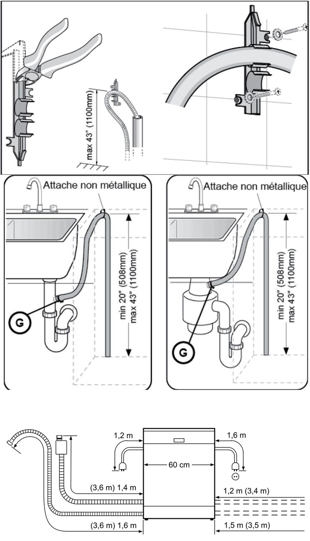 Ống thoát nước đến nguồn xả đảm bảo tiêu chuẩn.
