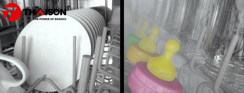 Rửa khử trùng Hygiene Plus của máy rửa bát Bosch