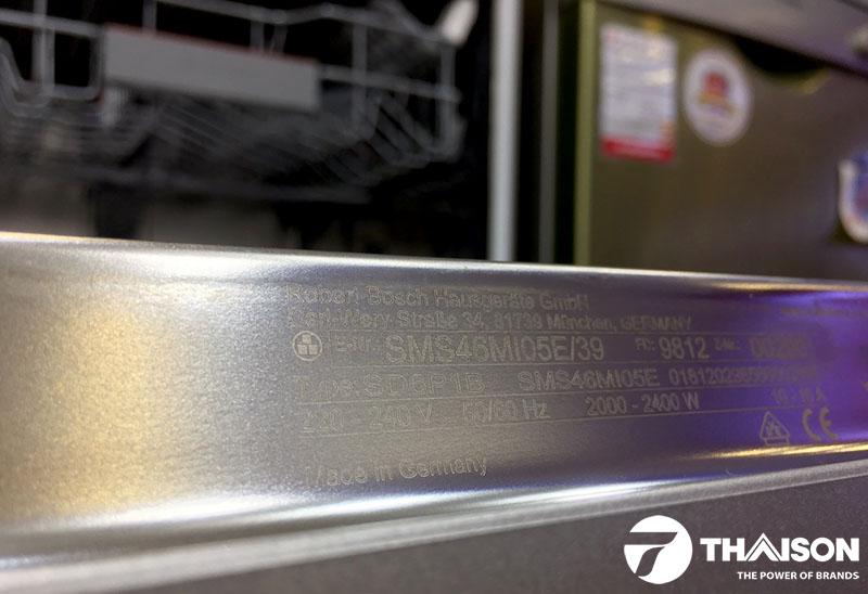 Máy rửa bát Bosch SMS46MI05E