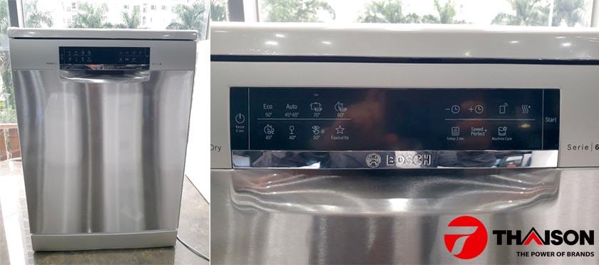 So sánh 03 máy rửa bát Bosch SMS6ZCI49E, SMS6ZCI48E và SMS6ZCI42E
