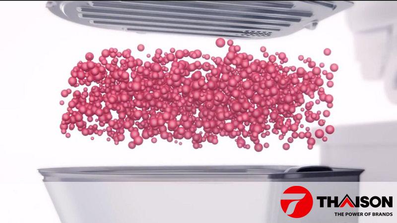 Công nghệ sấy sử dụng Zeolith của máy rửa bát Bosch