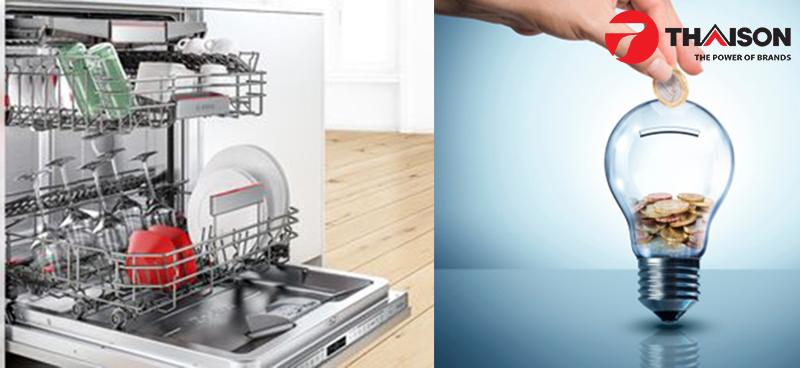 Máy rửa bát Bosch tiết kiệm gấp 5 lần so với rửa bằng tay