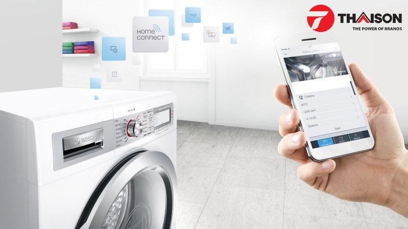 Máy giặt Bosch ứng dụng công nghệ Home Connect