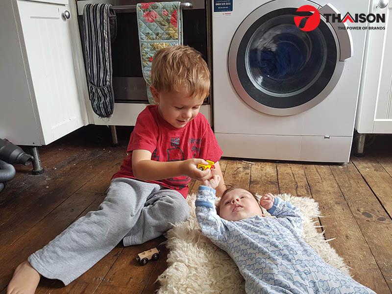 Máy giặt Bosch được đánh giá là yên tĩnh