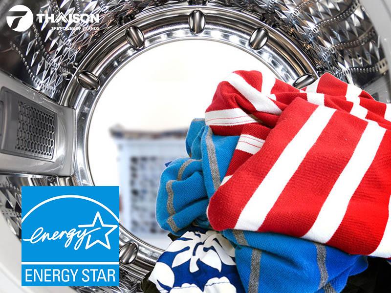 Máy giặt Bosch dán nhãn năng lượng Energy Star