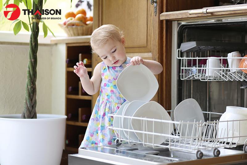 Máy rửa bát Bosch góp phần tạo nên sự sang trọng cho nhà bếp