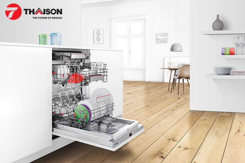 Top 5 tính năng ưu việt của máy rửa bát Bosch