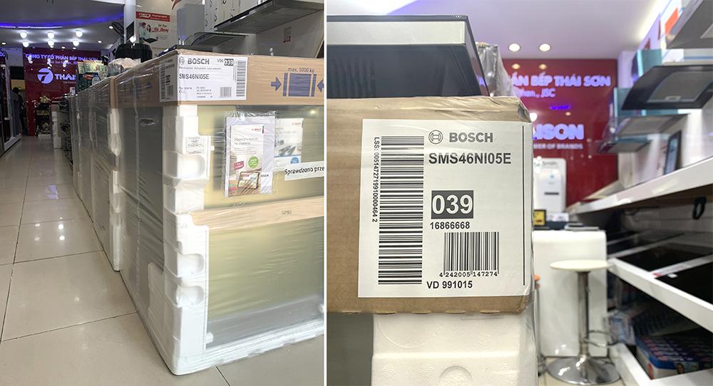Mua máy rửa bát Bosch Serie 4 chính hãng tại Bếp Thái Sơn.