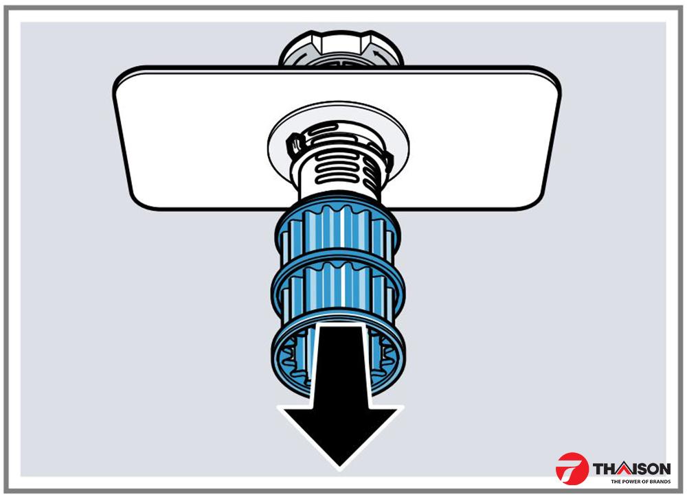 hệ thống lọc máy rửa bát