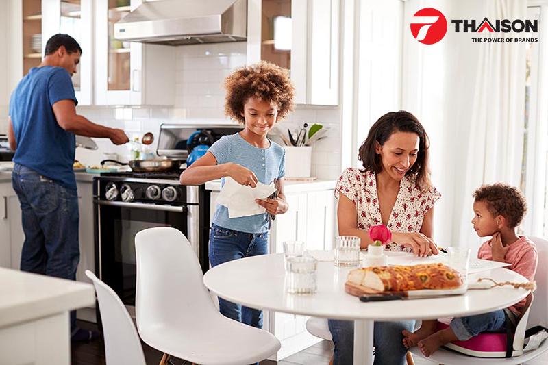 Nhu cầu sử dụng là yếu tố quan trọng cần xem xét trước khi làm mới nhà bếp