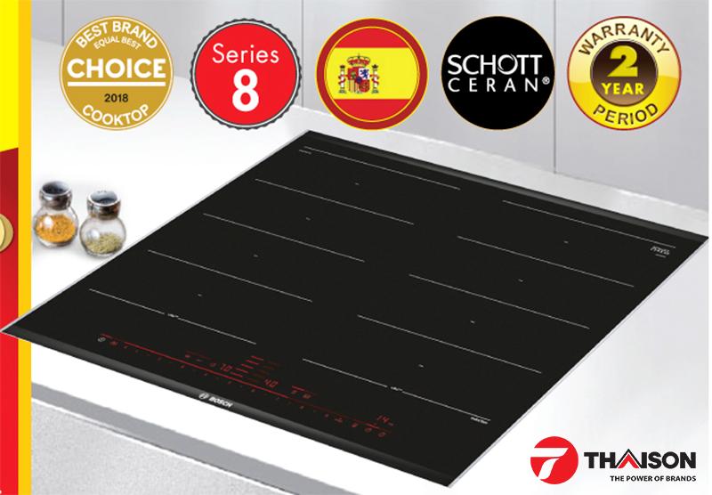 Bếp từ Bosch 1 trong 4 thiết bị bếp Bosch nâng tầm cho nhà bếp